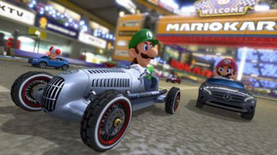 Mario Kart 8 Features Three Mercedes-Benz Cars