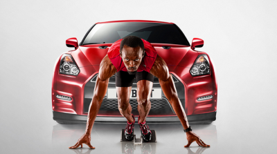 Nissan and Usain Bolt team up for a special GT-R