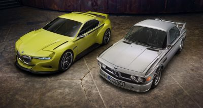 BMW 3.0 CSL batmobile Concept
