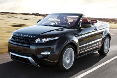 The New Range Rover Evoque Convertible