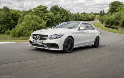 The new Mercedes-AMG C63