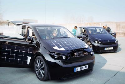solar powered german car