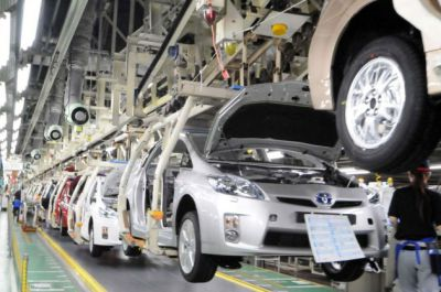 Toyota is Worlds Top Vehicle Maker