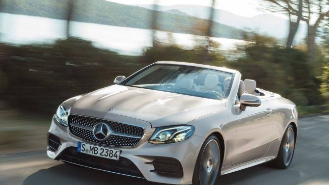 Mercedes E220D AMG Line 2 door 9G-Tronic Convertible from only £279.98 p/m