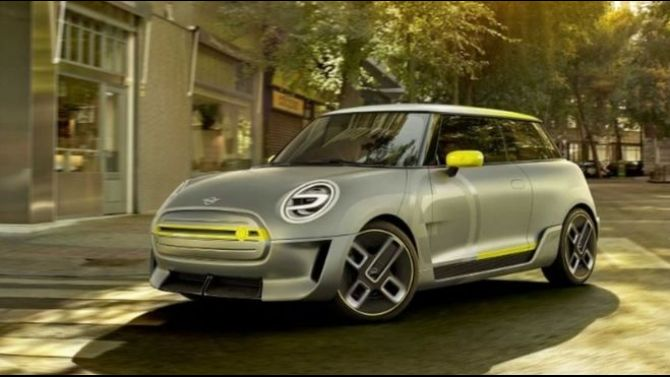 BMW Unveils New Design for Mini Electric