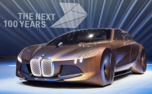 BMW Celebrate 100th Anniversary with New Shape Shifting Concept Car