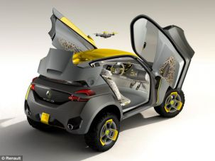 Renault reveals concept car which comes with a Drone that watches out for gridlock