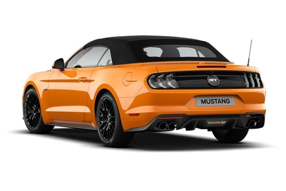 Ford Mustang Lease >> Ford Mustang 5 0 V8 Gt Custom Pack 2 2dr Convertible
