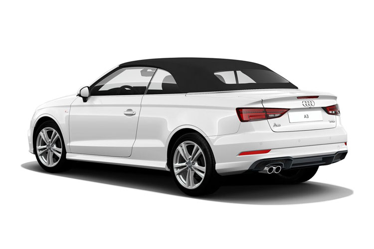 lease audi a3 convertible 2 0 tfsi s line 2dr. Black Bedroom Furniture Sets. Home Design Ideas