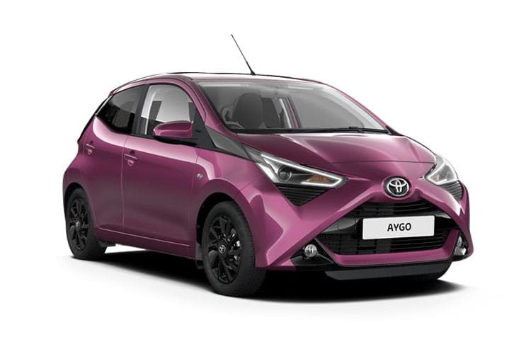 lease toyota aygo hatchback 1 0 vvt i x 3dr. Black Bedroom Furniture Sets. Home Design Ideas